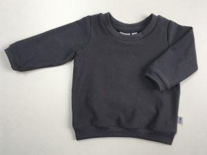 shirt effen grijs