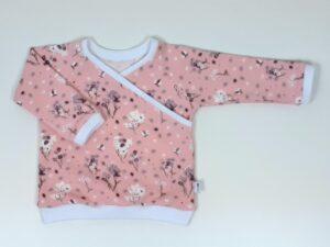 overslagshirt roze